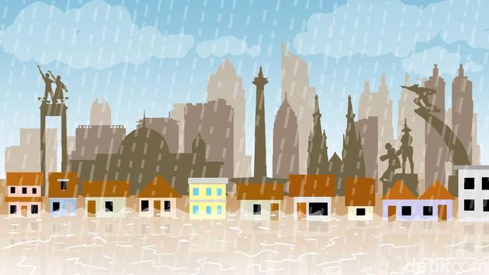 Image Result For Info Banjir Jakarta Hari Ini